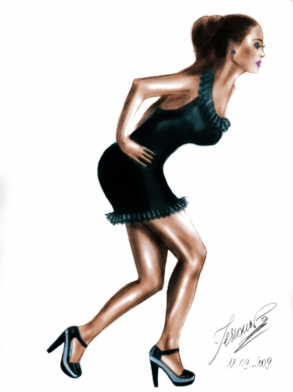 Tyra Banks by DeeaTerranova